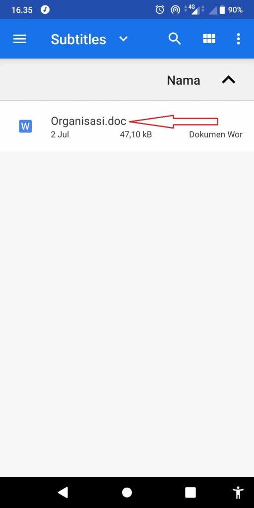Cara Mengubah Ekstensi File di Android