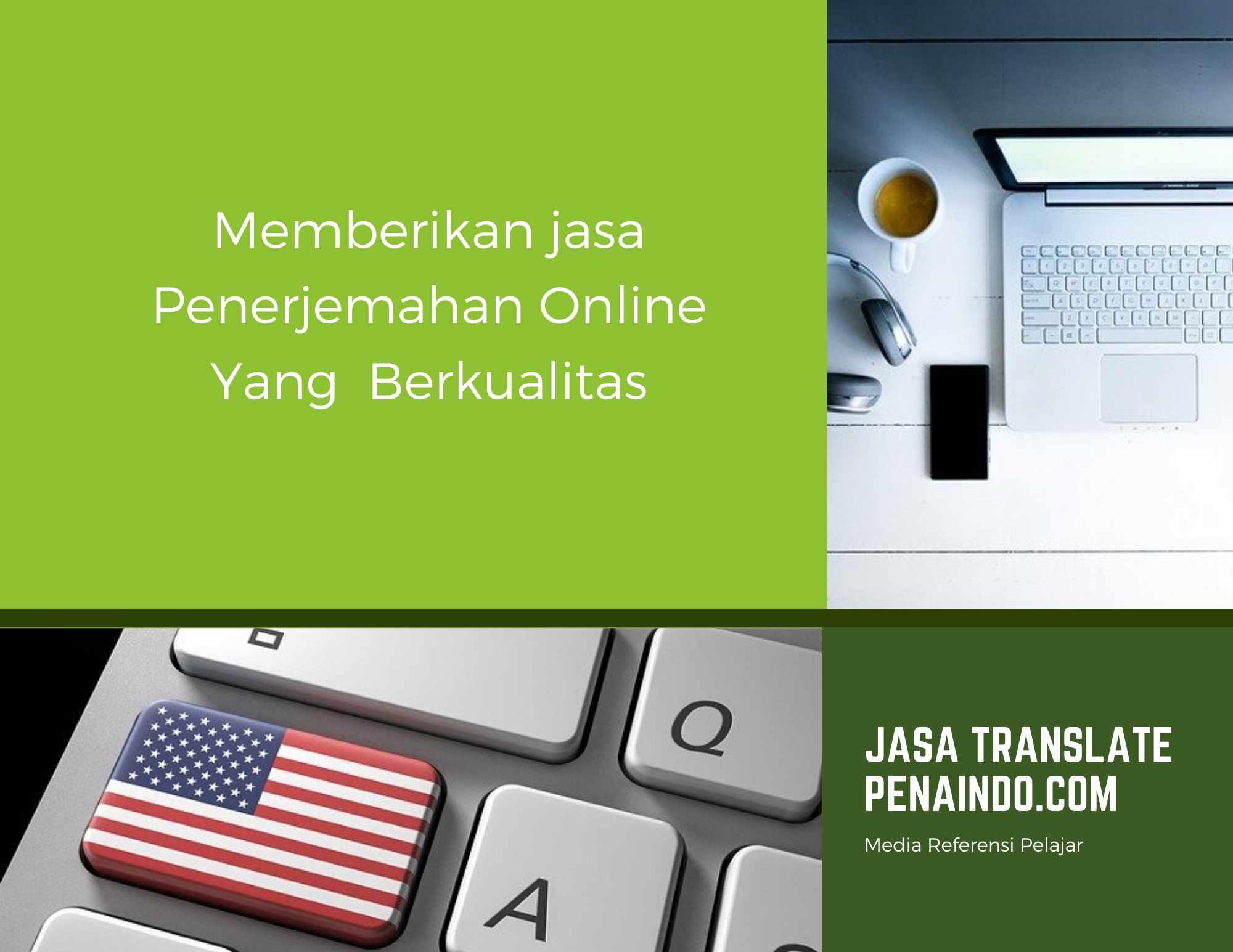 Jasa Penerjemah Online