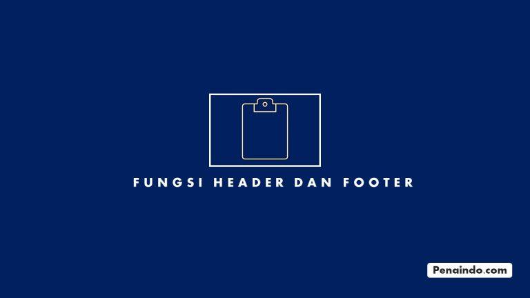 fungsi header dan footer